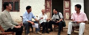 市领导在桂花村开展调研